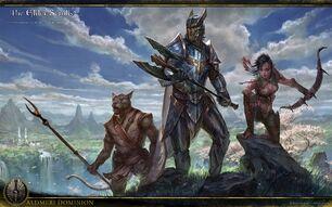 Aldmeri Dominion concept art