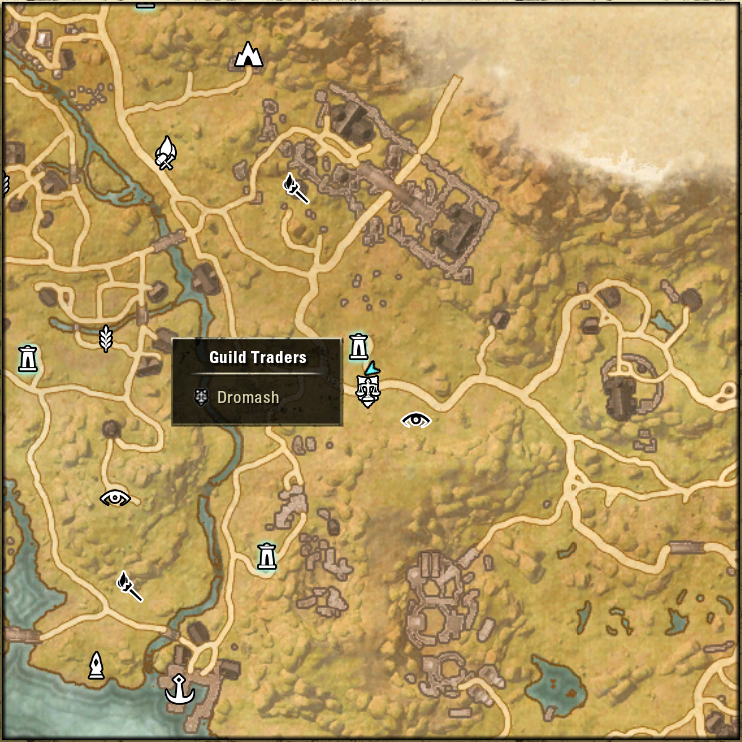 eso items from guild traders