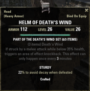 Deaths Wind - Helm 26