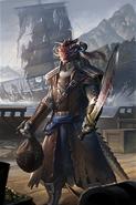 Red Bramman Legends Card Art