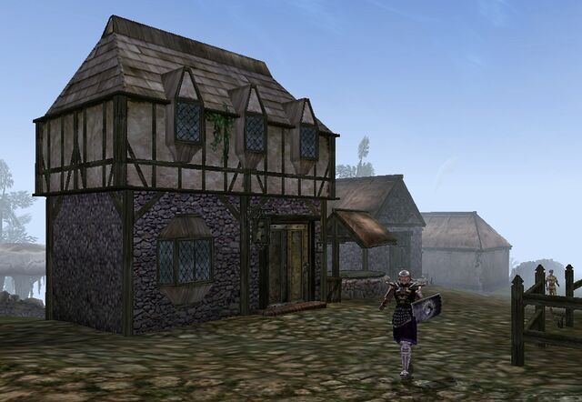 File:TES3 Morrowind - Pelagiad - Mebestien Ence Trader exterior.jpg
