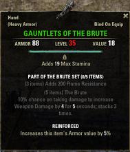 Brute - Gauntlets 35