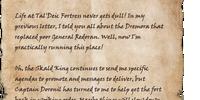 Letter from Ragna