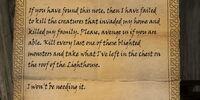 Habd's Death Letter