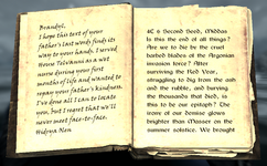Lymdrenn Telvanni's Journal 1