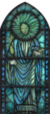 Dibella Stained Glass