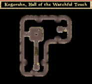 Kogoruhn, Hall of the Watchful Touch - Interior Map - Morrowind