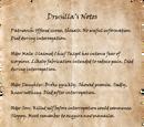 Drusilla's Notes