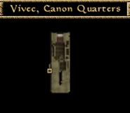 Canon Quarters Interior Map - Morrowind