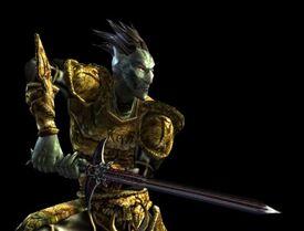 Morrowind Dark Elf