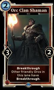 Orc Clan Shaman (Legends)