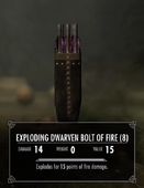 Explodingdwarvenboltoffire
