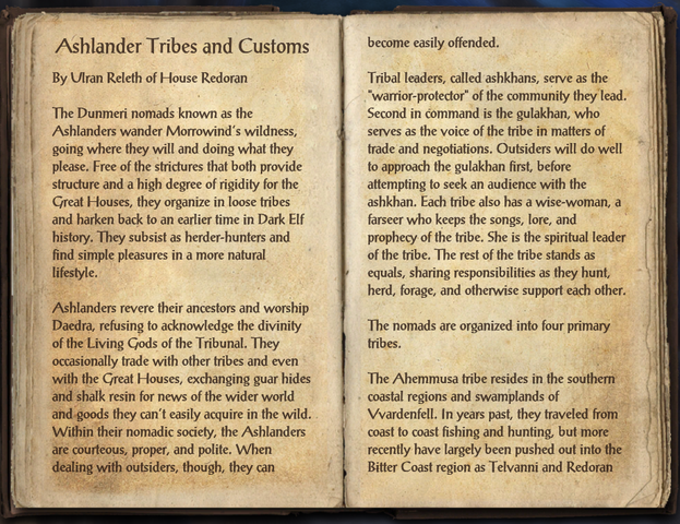 File:Ashlander Tribes and Customs - Page 1.png