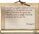 Mysterious Note (Oblivion)
