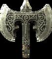 Broken steel battle axe head.png