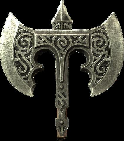 File:Broken steel battle axe head.png