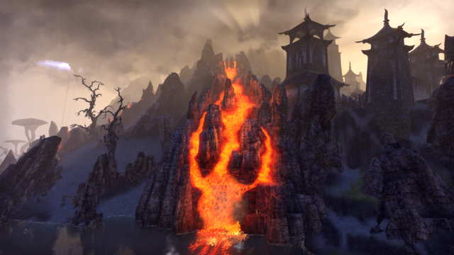 File:Ash Mountain View from Ebonheart.png