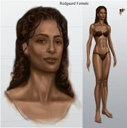 Redguard Female