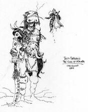 Talos farewells the king of atmora
