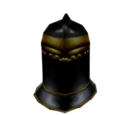 Ebony Closed Helm (Morrowind)