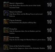 Morrowind Quest Achievements - 2