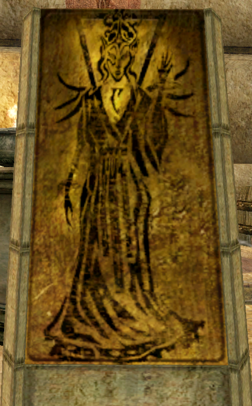 Shrine of the Tribunal - Almalexia - Morrowind