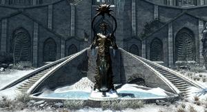 Statue of auriel skyrim