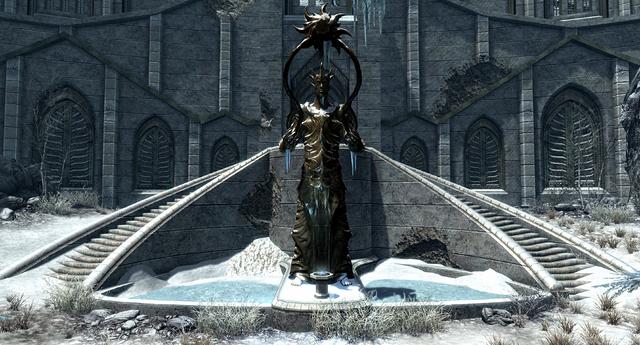 File:Statue of auriel skyrim.png