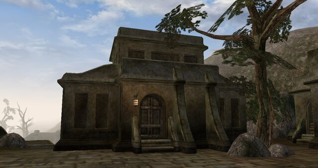 File:TES3 Morrowind - Balmora - Tyravel Manor exterior.jpg