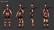 Flame Atronach In-game Model