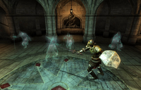 Priory of the Nine (quest) Fight