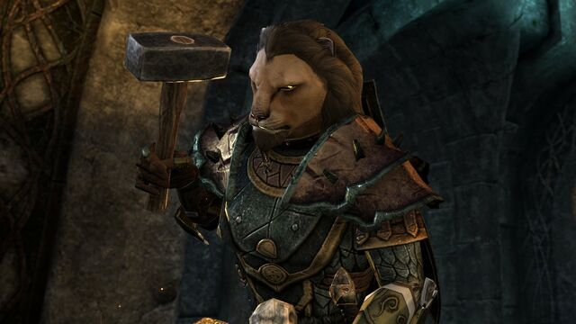 File:Khajiit Blacksmith.jpg