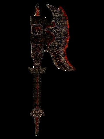 File:Oblivion DaedricWarAxe.png