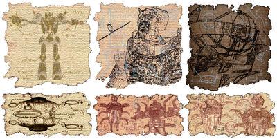Dwemer parchments copy