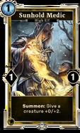Sunhold Medic (Legends)
