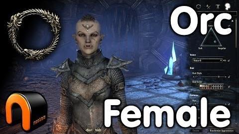 Elder Scrolls Online - Orc Female - Character Creation