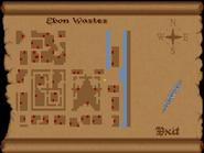 Ebon Wastes full map