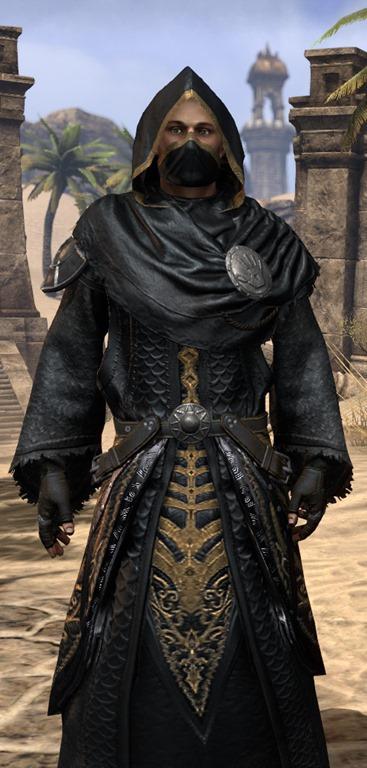 Black Hand Robe (Online) | Elder Scrolls