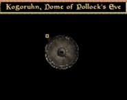 Kogoruhn, Dome of Pollock's Eve - Interior Map - Morrowind