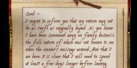 Sealed Correspondence