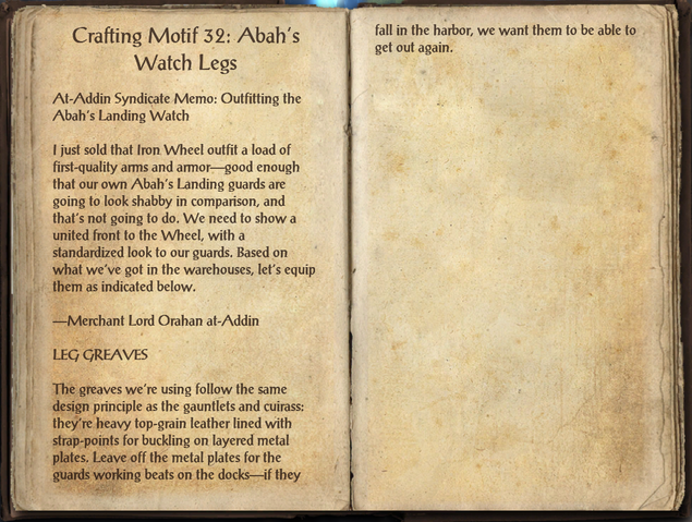 File:Crafting Motifs 32, Abah's Watch Legs.png
