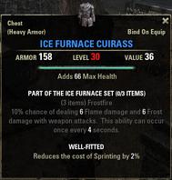 Ice Furnace - Cuirass 30