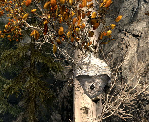 File:Beehive in Skyrim.png