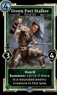 Green Pact Stalker (Legends)