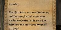 Rogatus's Letter (Quest)