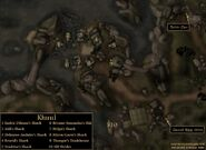 TES3 Morrowind - Khuul and environs - locations map