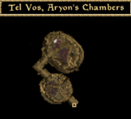 Tel Vos, Aryon's Chambers - Interior Map - Morrowind