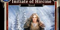Initiate of Hircine