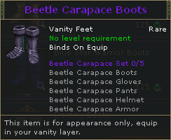 Beetle Carapace Boots V