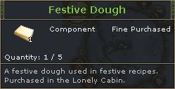 Festive Dough
